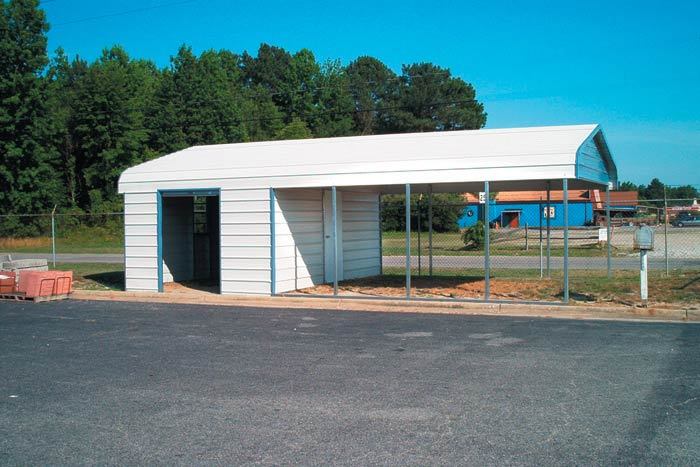 Kasperskorner Prefabricated Metal Garage Storage Shed